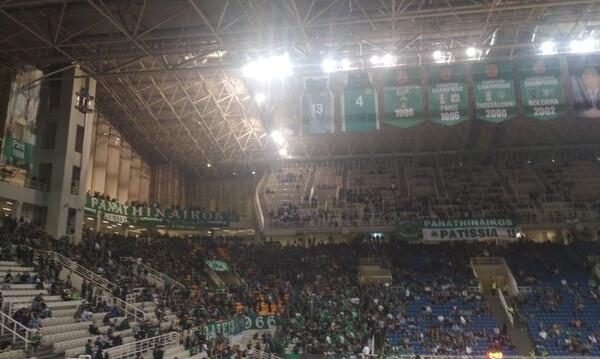 Παναθηναϊκός ΟΠΑΠ-Ρεάλ Μαδρίτης: Γεμίζει το ΟΑΚΑ (video+photos)