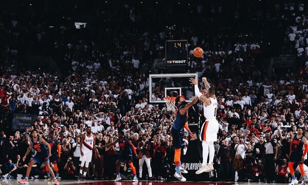 NBA: «Τέζαρε» τους Θάντερ ο μυθικός Λίλαρντ! (videos+photos)