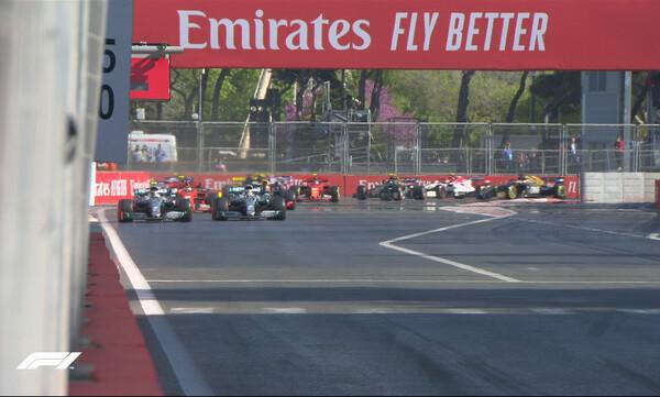 Formula 1: Κυρίαρχος και στο Μπακού ο Μπότας