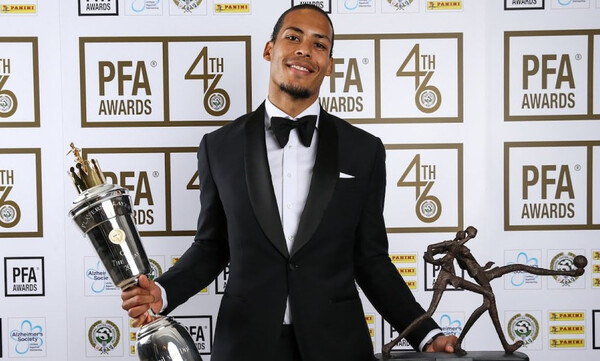 Πολυτιμότερος ποδοσφαιριστής της Premier League o Φαν Ντάικ