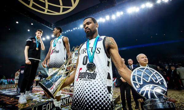 Basketball Champions League: Η συνήθεια που έγινε λατρεία για τον Πάντερ (video+photos)