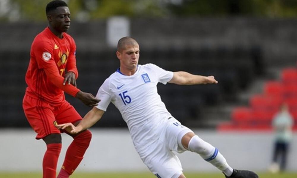 Εθνική Παίδων: Ήττα από το Βέλγιο