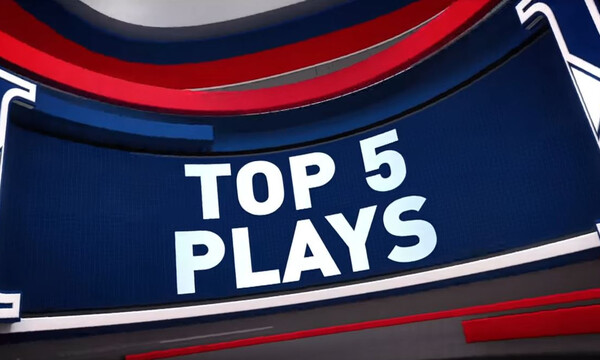 NBA: Top 5 με Ουόριορς (video)