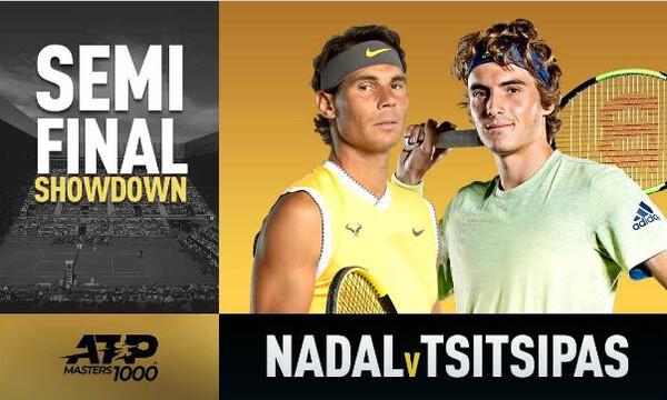 Η ώρα του ημιτελικού στο Madrid Open: Ναδάλ εναντίον Τσιτσιπά