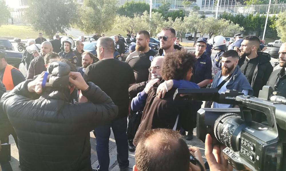 ΠΑΟΚ-ΑΕΚ: Στο ΟΑΚΑ με Ιβάν Σαββίδη η «ασπρόμαυρη» αποστολή (photos&videos)