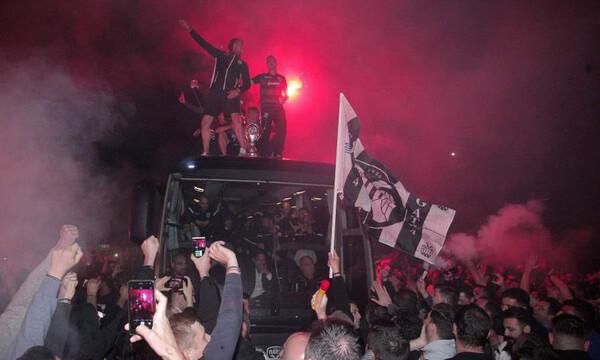 «Έπεσε» το «Μακεδονία»: Η αποθέωση του νταμπλούχου ΠΑΟΚ! (photos&videos)