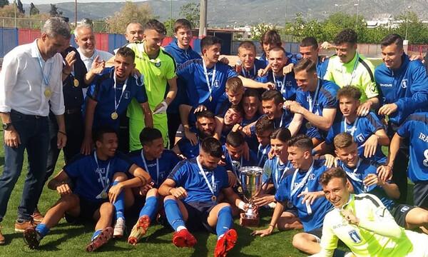 Πρωταθλήτρια στη Football League η Κ19 του Ηρακλή! (photos+video)