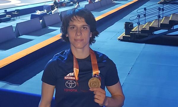 Χάλκινο μετάλλιο για την Πρεβολαράκη στην Ουκρανία