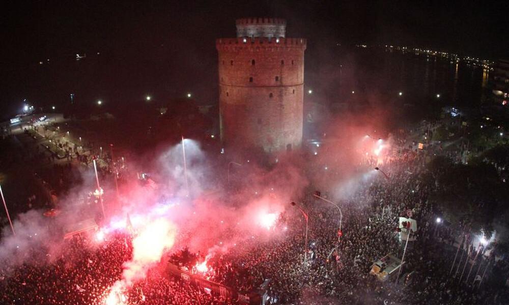 ΠΑΟΚ: Η βόλτα του Κυπέλλου στη Θεσσαλονίκη (video)