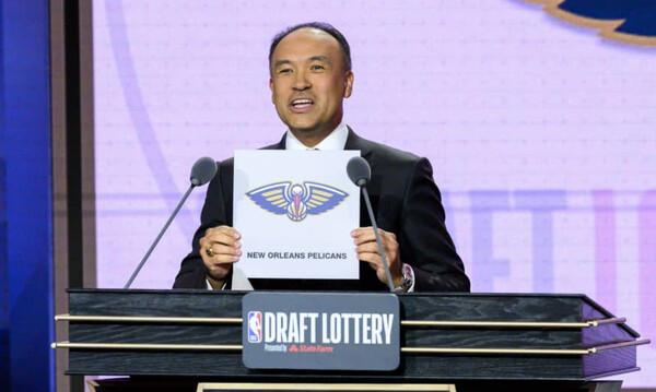 NBA: Οι Πέλικανς θα επιλέξουν πρώτοι στο φετινό ντραφτ (video)