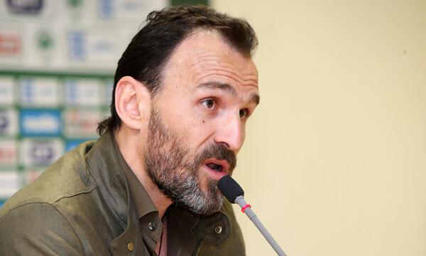 Νίκος Νταμπίζας στον ΟΠΑΠ: «Εύχομαι να σηκώσει το κύπελλο ο Χολέμπας» (video)