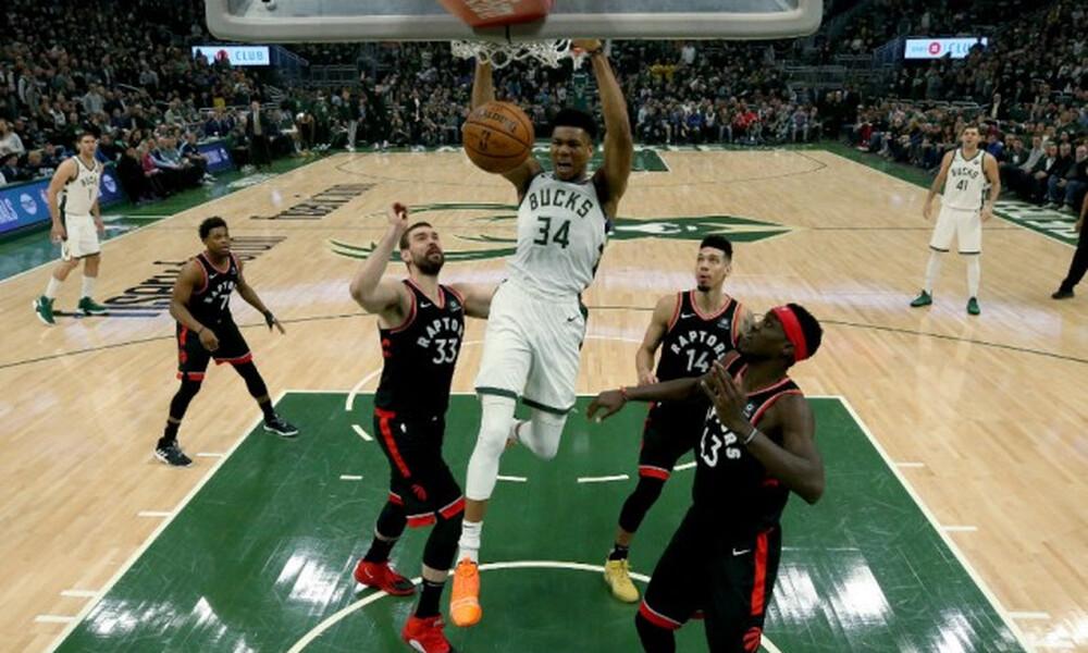 NBA: Η μυθική εμφάνιση του Αντετοκούνμπο (video+photos)