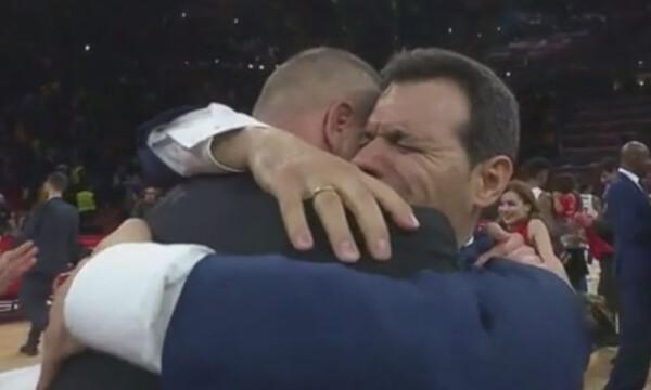 Euroleague Final Four: Η συγκλονιστική αγκαλιά Ιτούδη – Βατούτιν (photos+video)