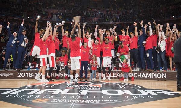 Euroleague Final Four: Το σήκωσαν… μαζί Ιτούδης και Χάινς! (videos)