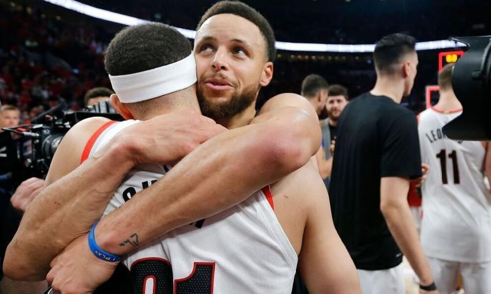 NBA: Η αγκαλιά των αδελφών Κάρι (photos+video)