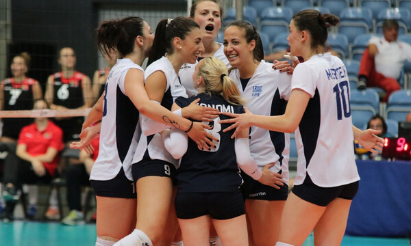 Silver European League: Χαμόγελα στην Εθνική γυναικών βόλεϊ για τη νικηφόρα πρεμιέρα