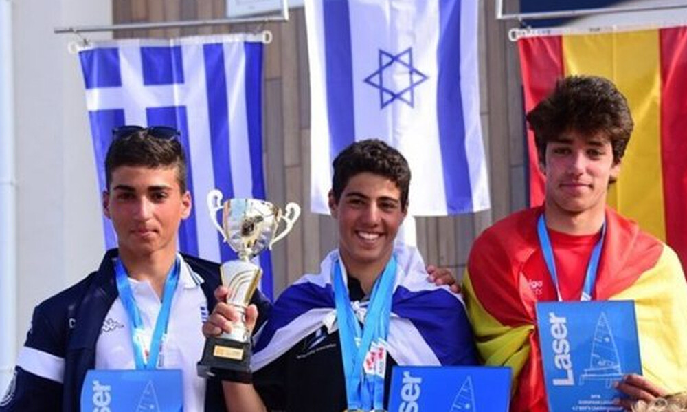 Ασημένιο μετάλλιο ο Παπαδάκος στο Ευρωπαϊκό Laser 4,7 youth