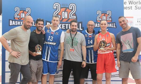 Μπασκετική πανδαισία στο 2on2 Basketball της Κύπρου με Δημήτρη Διαμαντίδη