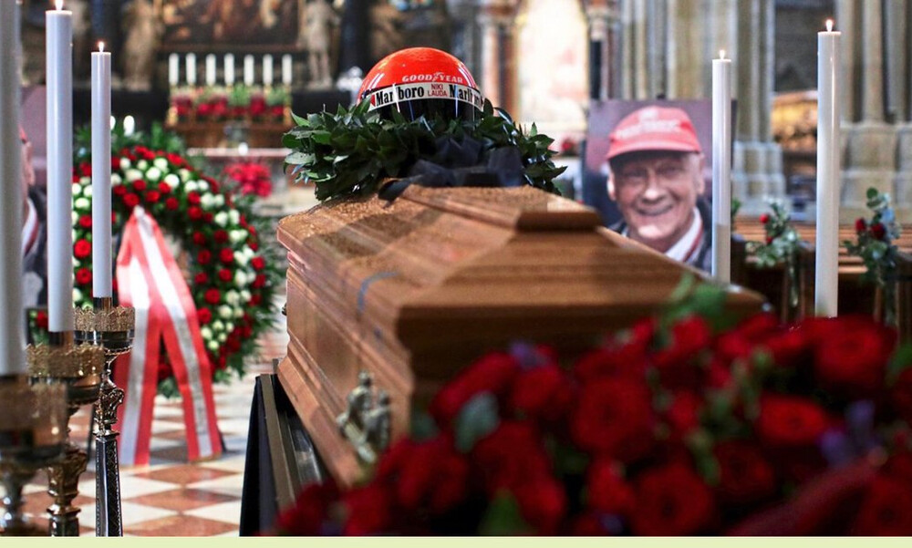 Το τελευταίο αντίο στον Νίκι Λάουντα (photos)