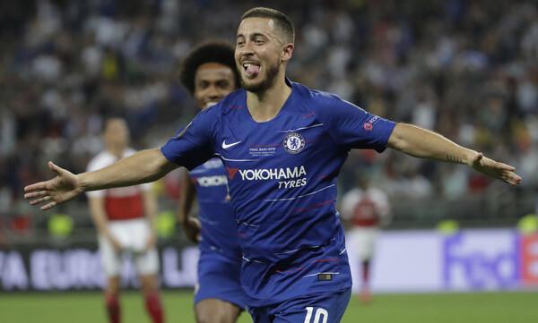 Τσέλσι – Άρσεναλ 4-1: Με «μάγο» Αζάρ, σήκωσε το Europa League (videos+photos)
