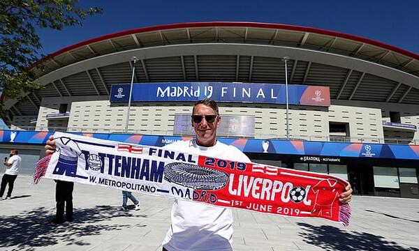 Τελικός Champions League: Χιλιάδες Άγγλοι χωρίς εισιτήριο