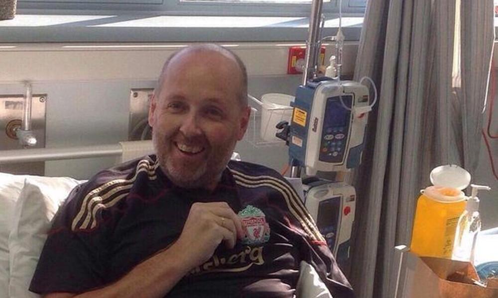 Οπαδός της Λίβερπουλ με καρκίνο μένει ζωντανός για να δει τον τελικό του Champions League (video)
