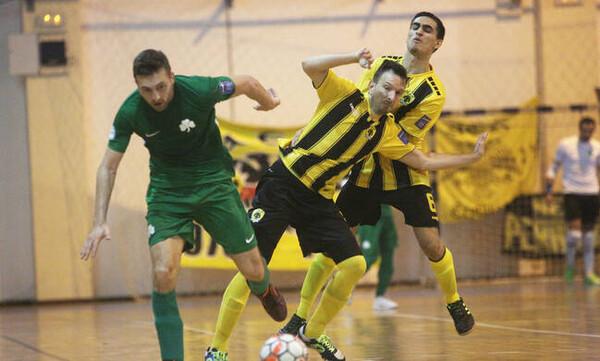 Πρωταθλήτρια η ΑΕΚ στο ποδόσφαιρο σάλας