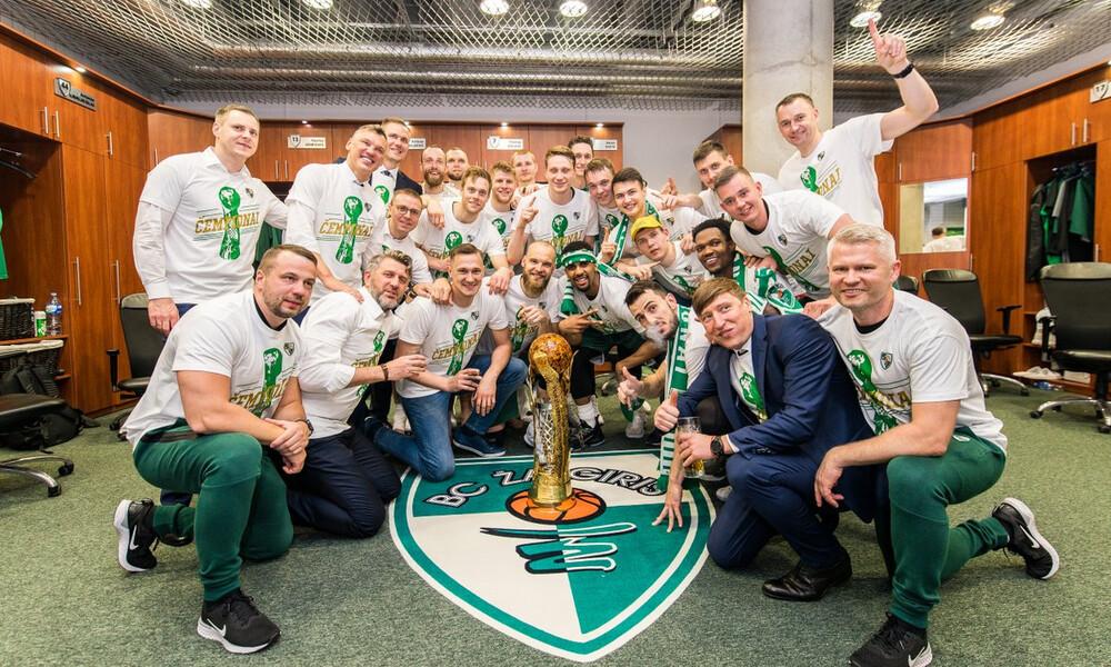 Ένατο σερί πρωτάθλημα για τη Ζαλγκίρις Κάουνας (photos)