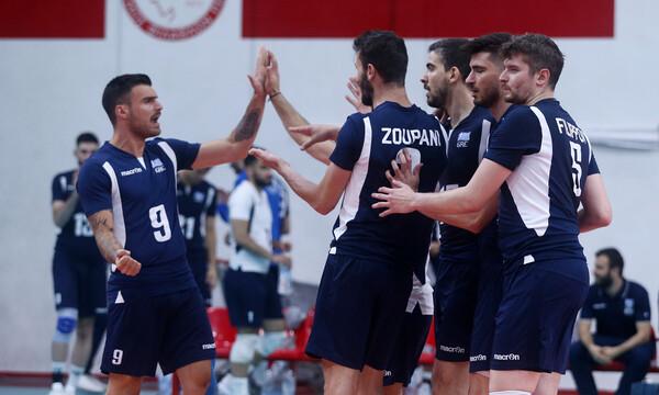 Silver European League: Η Εθνική Ανδρών νίκησε την Αυστρία και πήρε προβάδισμα πρόκρισης (photos)