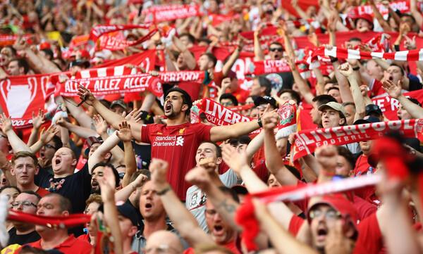 Champions League: «Τρέλα» για το έκτο από τον κόσμο της Λίβερπουλ (videos+photos)