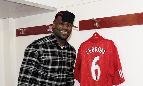 ΛεΜπρον Τζέιμς: «Τρελάθηκε» με την κατάκτηση του Champions League από τη Λίβερπουλ! (photos)