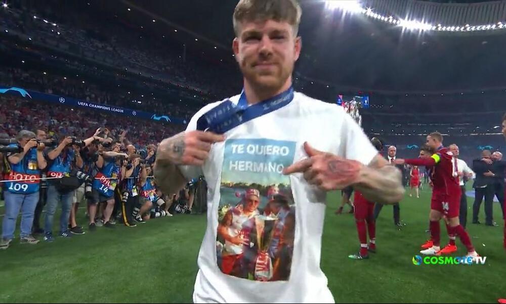 Τελικός Champions League 2019: Η ξεχωριστή αφιέρωση του Μορένο στον Ρέγες (video)