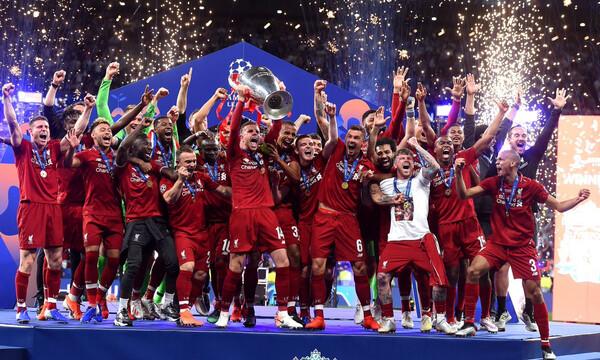 Champions League: Υποδοχή «ηρώων» στο Λίβερπουλ (video+photos)