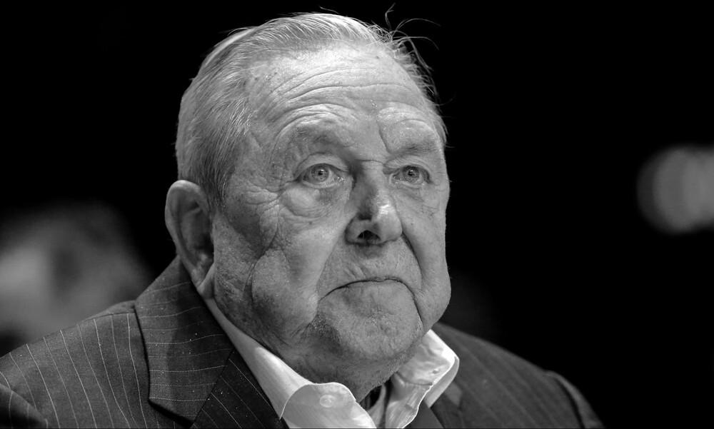 Θρήνος στην UEFA– Απεβίωσε ο μακροβιότερος πρόεδρός της