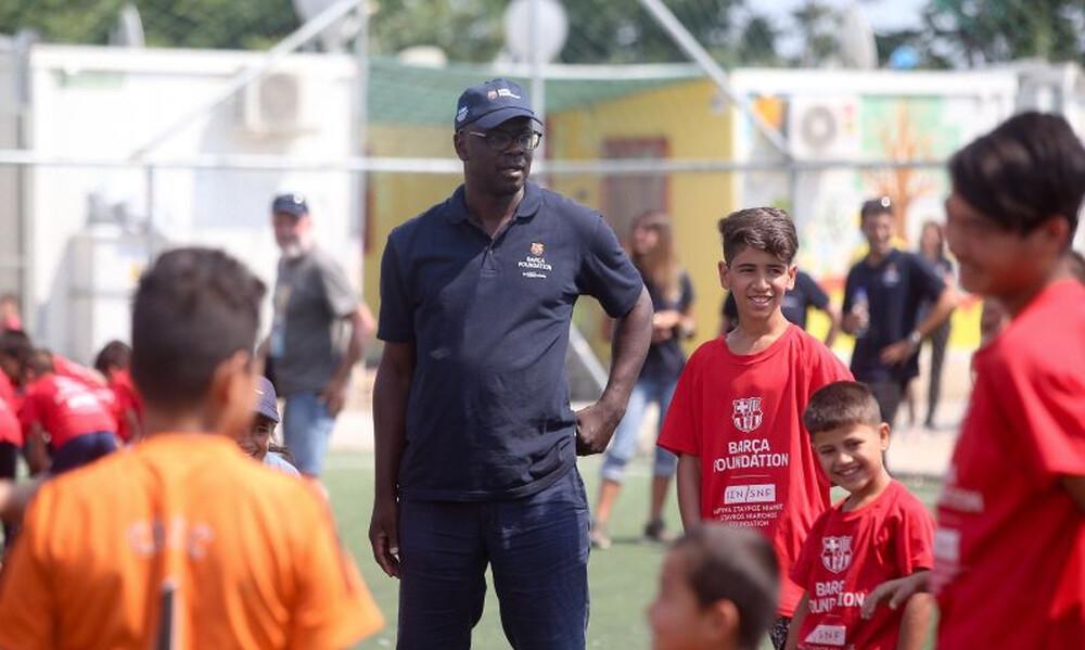 Στον Βοτανικό ο Τουράμ για το FutbolNet (photos)