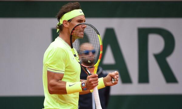 Roland Garros: Υπέταξε τον Φέντερερ ο Ναδάλ!