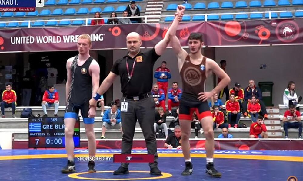 Πάλη Ευρωπαϊκό εφήβων/νεανίδων: Χάλκινο μετάλλιο διεκδικούν Μαρτίδης και Κάπογλου