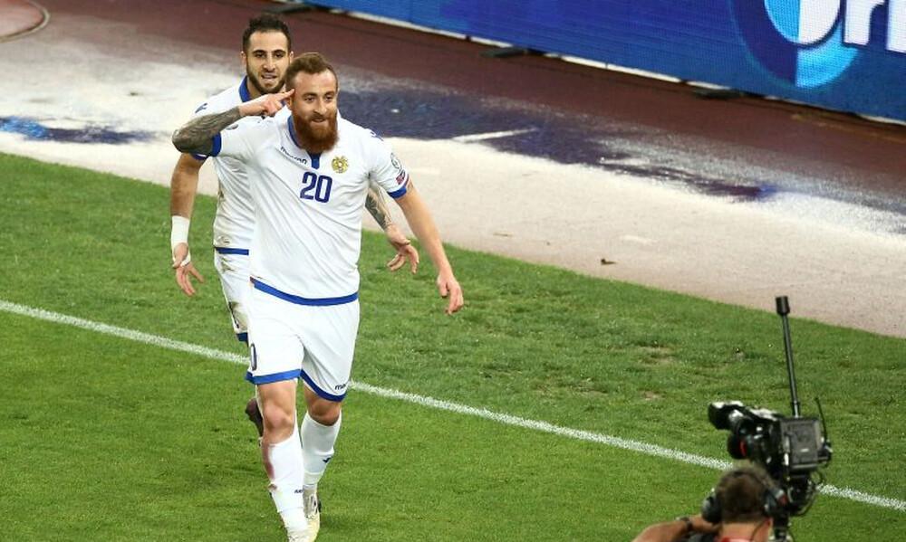 Το… καταφέραμε κι αυτό! Το πρώτο γκολ στην ιστορία της Αρμενίας κόντρα στην Ελλάδα (video+photos)