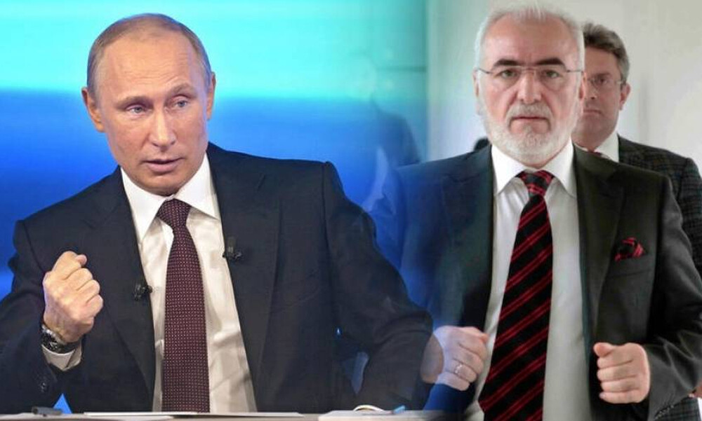 Μήνυμα του Πούτιν σε Ιβάν Σαββίδη
