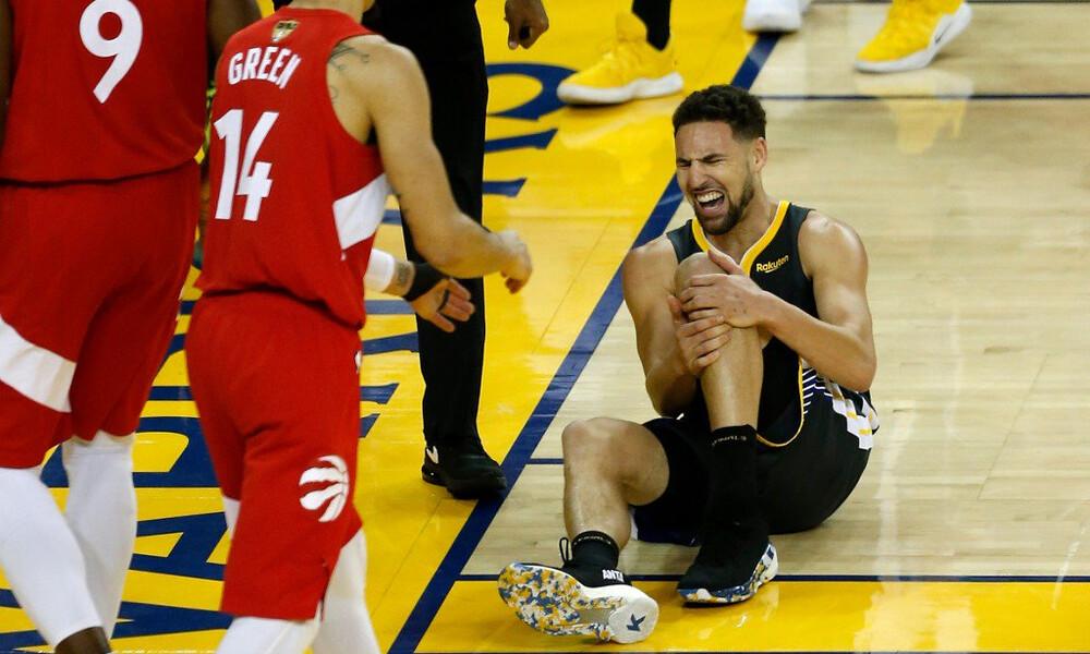 NBA: Σοκ στους Γουόριορς με Τόμπσον!