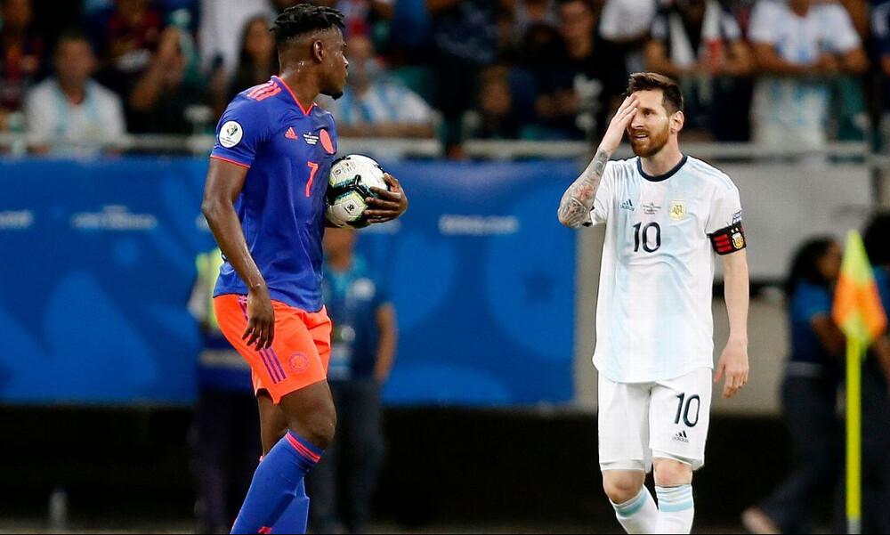 Copa America: Τσάκισε την Αργεντινή η Κολομβία (video+photos)