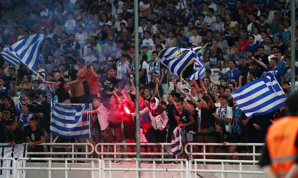 Στο στόχαστρο της UEFA η Ελλάδα για το ματς με την Ιταλία (photos)