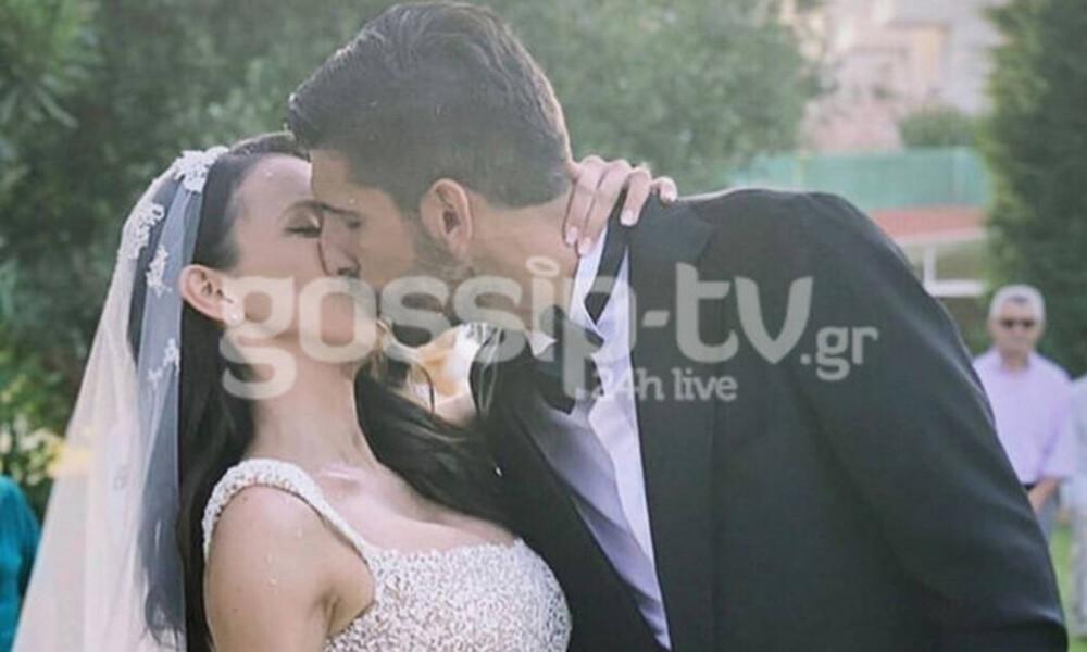 Ανέστης-Παπουλίδου: Ο παραμυθένιος γάμος και η βάφτιση της κορούλας τους (vid&pics)