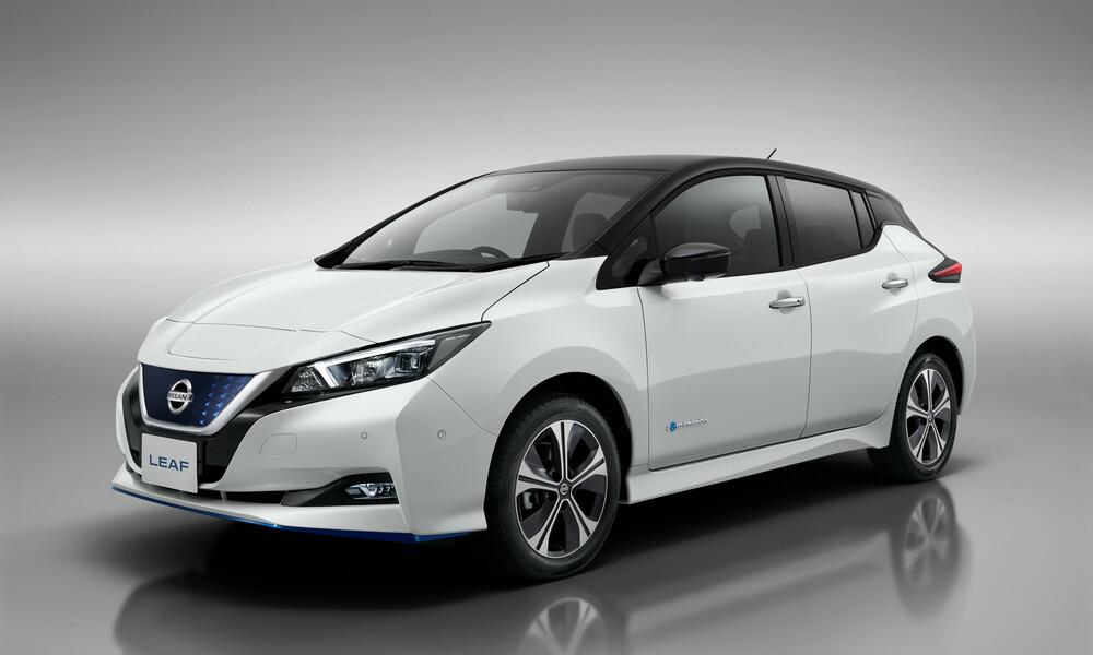 Το Nissan LEAF, τώρα διαθέσιμο σε νέες εκδόσεις, σε όλη την Ευρώπη