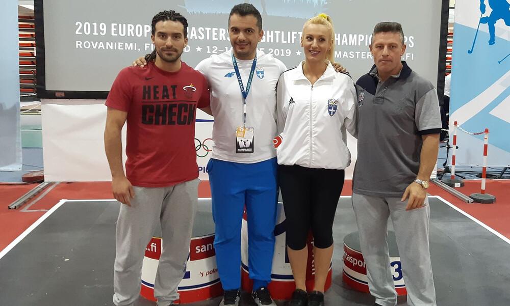 Μετάλλια και παγκόσμια ρεκόρ από τους Ελληνες στο Ευρωπαϊκό πρωτάθλημα Masters