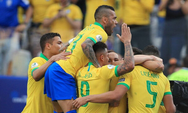 Copa America: «Περίπατος» για Βραζίλια, νίκη-πρόκριση για Βενεζουέλα (videos)
