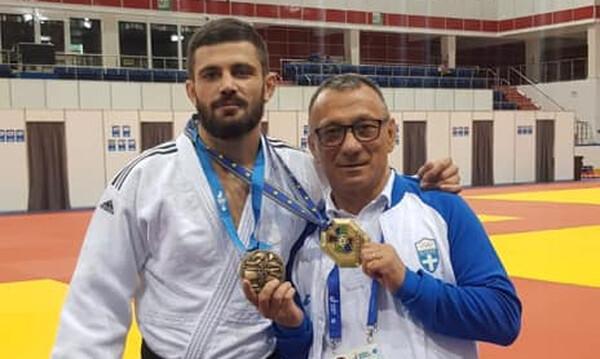 2οι Ευρωπαϊκοί Αγώνες: «Χάλκινος» ο Αζωίδης στο τζούντο (photos)