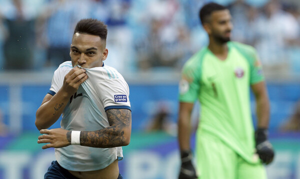 Copa America: Έτσι έβαλε μπροστά την Αργεντινή ο Μαρτίνες (video)