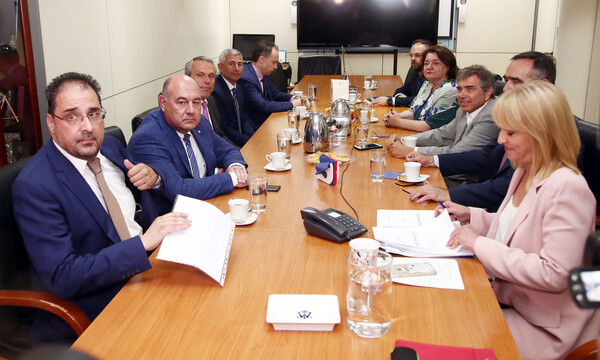 ΑΕΚ: Η υπογραφή της προγραμματικής σύμβασης με την Περιφέρεια Αττικής (photos+video)