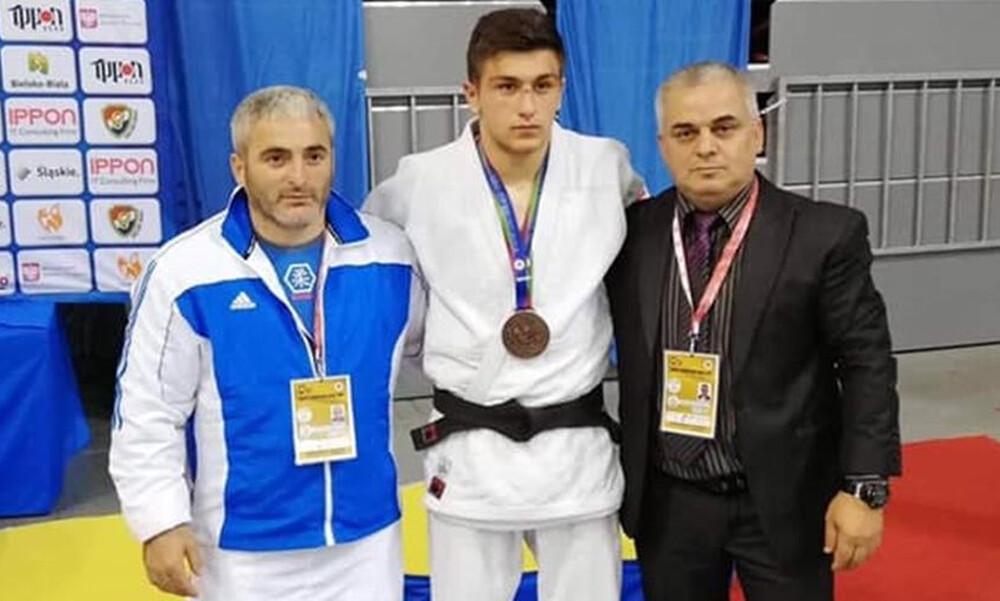 Ευρωπαϊκό πρωτάθλημα U18: Χάλκινο μετάλλιο ο Μιχαήλ Τσουτλασβίλι